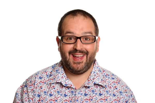 Justin Moorhouse comedian for hire